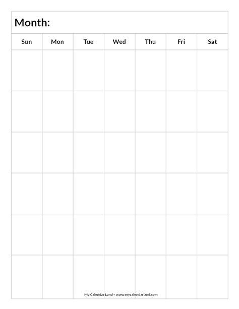 search results for printable portrait monthly calendar blank 6 week calendar calendar template 2016