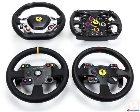 thrustmaster wheel 5 simracing steering wheels tested logitech vs