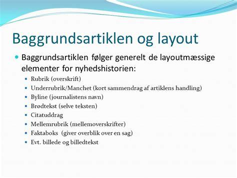 layout til essay artikelskrivning baggrundsartikel ppt video online download