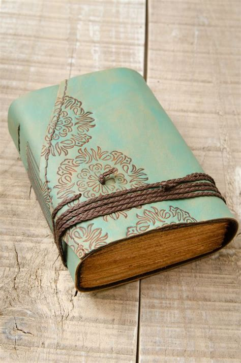 How To Make A Handmade Leather Journal - 25 best ideas about leather journal on