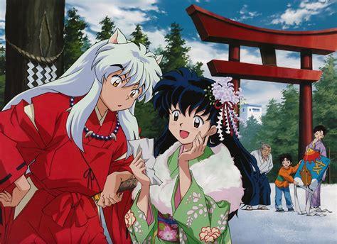 anime inuyasha inuyasha and kagome desktop backgrounds for free hd