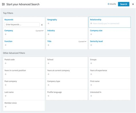 Advanced Search Linkedin Advanced Search Now Only Available With Sales