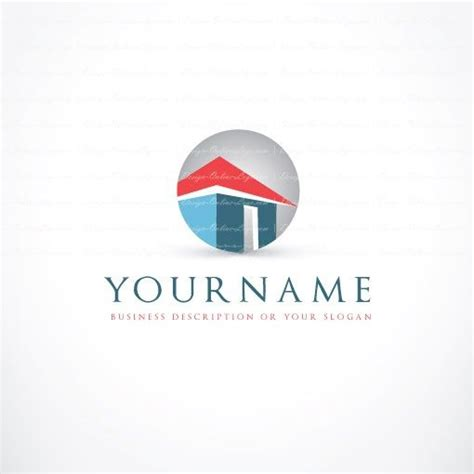 ready house real estate real estate house logo free business card