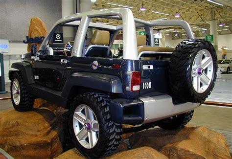 icon jeep interior 1997 jeep icon concept conceptcarz com