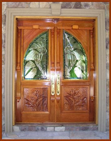 Custom Wood Front Door Front Entry Doors Vintage Doors