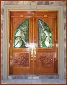 Custom Wood Front Doors wood interior doors for home d 233 cor security vintage doors