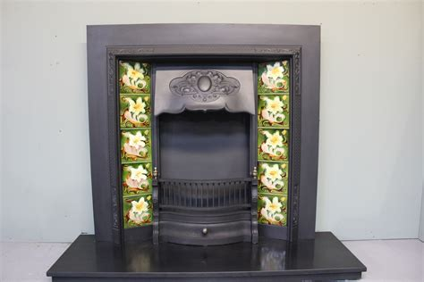 Nouveau Fireplace Tiles by Charles Graham Architectural Antiques And Fireplaces
