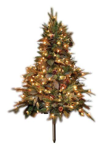 gki bethlehem lighting 4 foot green river spruce stake