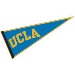 ucla school colors ucla pennant and pennants for ucla