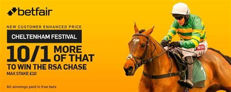 Heroes At Odds more of that 10 1 betfair offer and rsa odds and offers