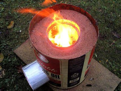cheap  efficient rocket stove