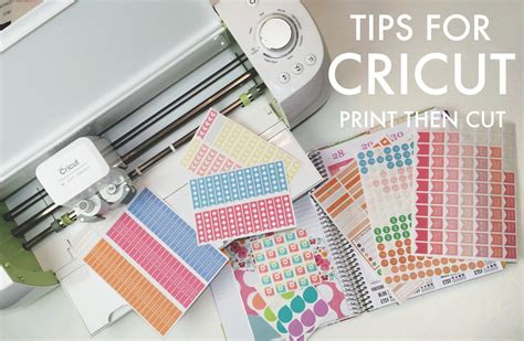 How To Make Stickers With Cricut Explore