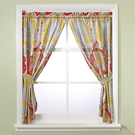echo curtains echo design jaipur bath window curtain panel pair bed