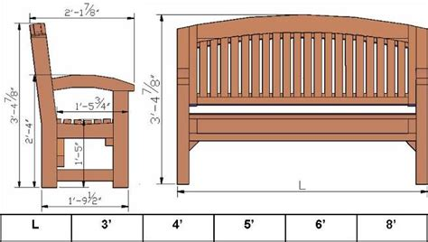 bench sizes luna memorial benches built to last decades forever redwood park bench dimensions park