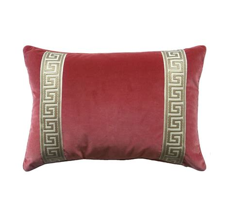Key Pillow by Coral Velvet With Key Pillow The Kellogg Collection