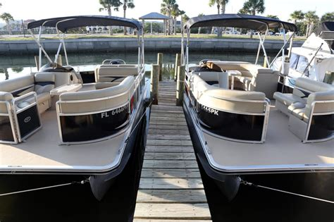 pontoon boat rental englewood fl harris pontoon float boat 22 with mercury 115 seats 12