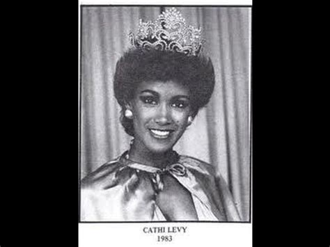 cathy levy miss jamaica cathy levy is crowned miss jamaica world 1983 youtube