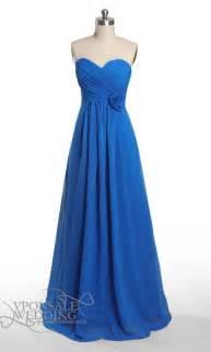 blue bridesmaid dresses floral strapless blue bridesmaid dress dvw0048 vponsale wedding custom dresses