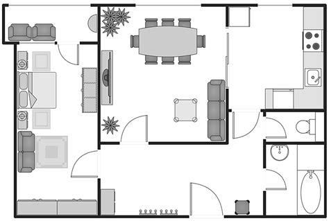 create building floor plans creating building plan with building plans solution conceptdraw helpdesk