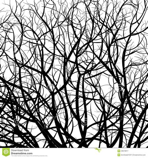 black and white tree pattern tree pattern royalty free stock photography image 29678917