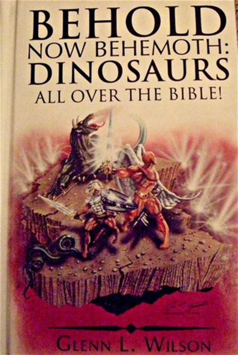 behold now behemoth dinosaurs all the bible by