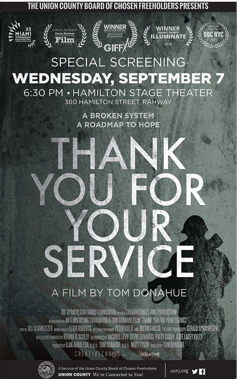 where to your to be a service thank you for your service documentary tickets wed sep 7 2016 at 6 30 pm eventbrite