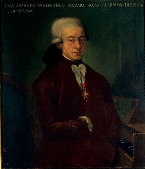 mozart born where johann nepomuk della croce s portrait of mozart with the
