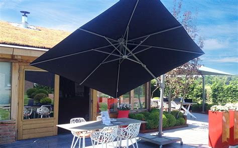 Parasol Deporté Inclinable by Parasol D 233 Port 233 Inclinable Solero 174 Fratello 3x3