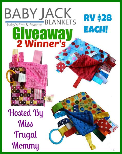 Baby Giveaways 2014 - baby jack blankets giveaway 2 winners