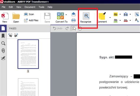 convert pdf to word recognize text how do i convert pdf to word 2 professional approach