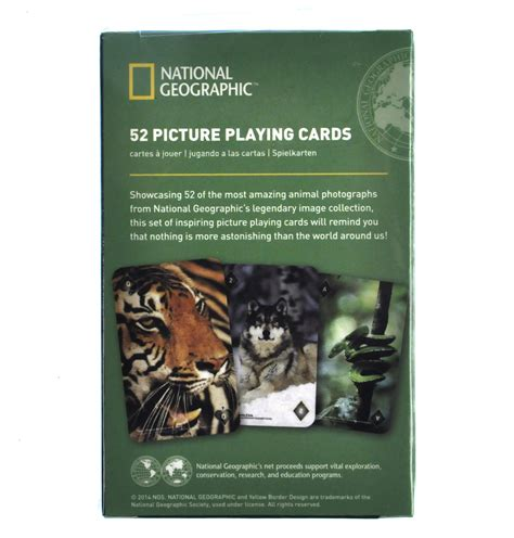 national geographic cards amazing animals national geographic 52 picture