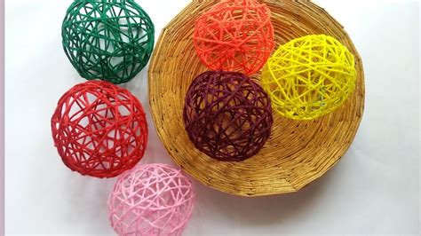 how to start a new skein of yarn when knitting create decorative yarn balls diy home guidecentral