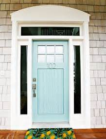 door color freckle face girl shut the front door