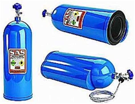 bazooka nos8 8 inch nitrous bottle car electronics