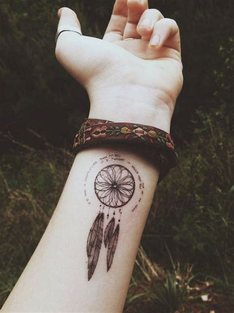 40 mysterious photos of dreamcatcher tattoos