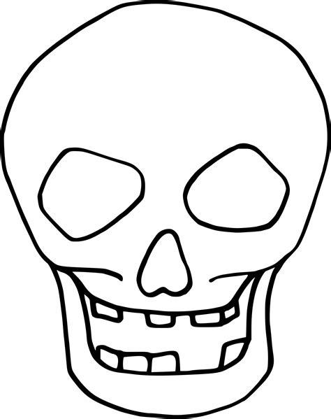 skull face coloring page coloriage t 234 te de mort halloween 224 imprimer sur coloriages