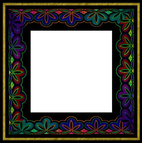 free printable picture frame templates stationary borders clipart best