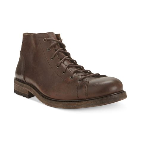 kenneth cole shoes kenneth cole order boots in brown for lyst