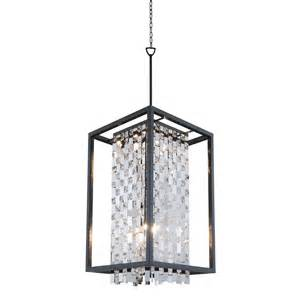 foyer lighting lowes dvi dvp6317gr cry amethyst large foyer light lowe s canada