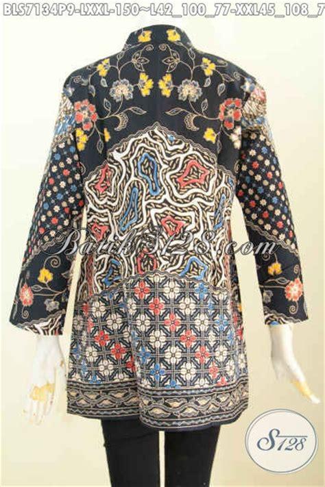 Baju Batik Atasan Wanita Lengan 79 Baju Batik Atasan Wanita Bahan Batik Model Kerah Shanghai