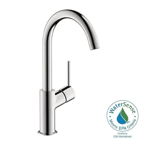 hansgrohe talis s kitchen faucet hansgrohe talis s single 1 handle high arc bathroom