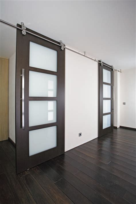 sliding doors for living room wood sliding doors quot twin quot modern living room miami
