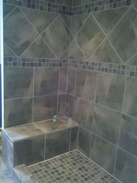 Tile Showers Images by 40 Gray Shower Tile Ideas And Pictures