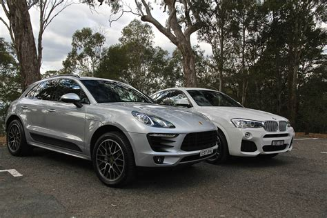 porsche vs bmw porsche macan v bmw x4 comparison review photos 1 of 90