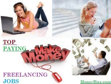Jobs Making Money Online - 6 top paying best freelance jobs to make money online