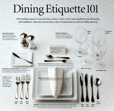 Dining Table Atticates Professional Dining Etiquette Todd Williams S Eportfolio