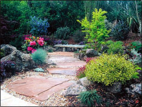 cal native landscaping natural landscapes and flagstone