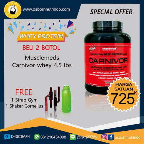 Harga Clear Muscletech promo 2017 whey protein musclemeds carnivor whey 4 5 lbs