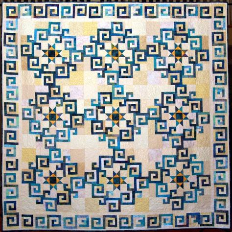 Stellar Quilts Judy Martin by Aegean Sea Quilt By The Brunswick Quilters Guild Pattern