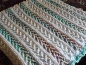 7 free crochet afghan patterns in pastel colors that will